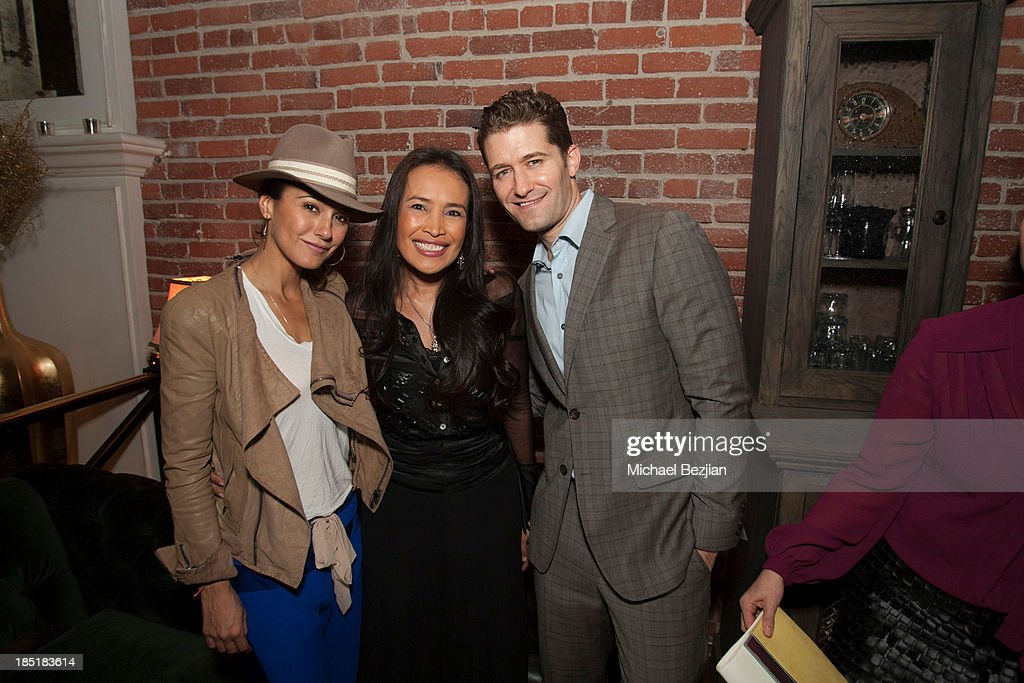 Actress Emmanuelle Chriqui, activist Somaly Mam and actor Matthew Morrison attend Songs Of Hope Event Benefiting The Somaly Mam Foundation on October 17, 2013 in Hollywood, California.