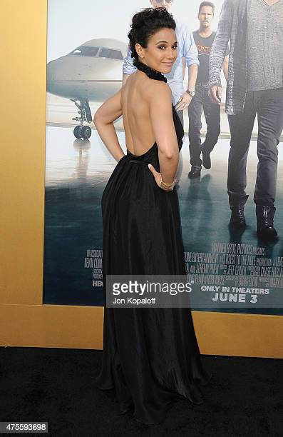 Actress Emmanuelle Chriqui arrives at the Los Angeles Premiere 'Entourage' at Regency Village Theatre on June 1 2015 in Westwood California