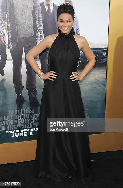 Actress Emmanuelle Chriqui arrives at the Los Angeles Premiere 'Entourage' at Regency Village Theatre on June 1 2015 in Westwood California