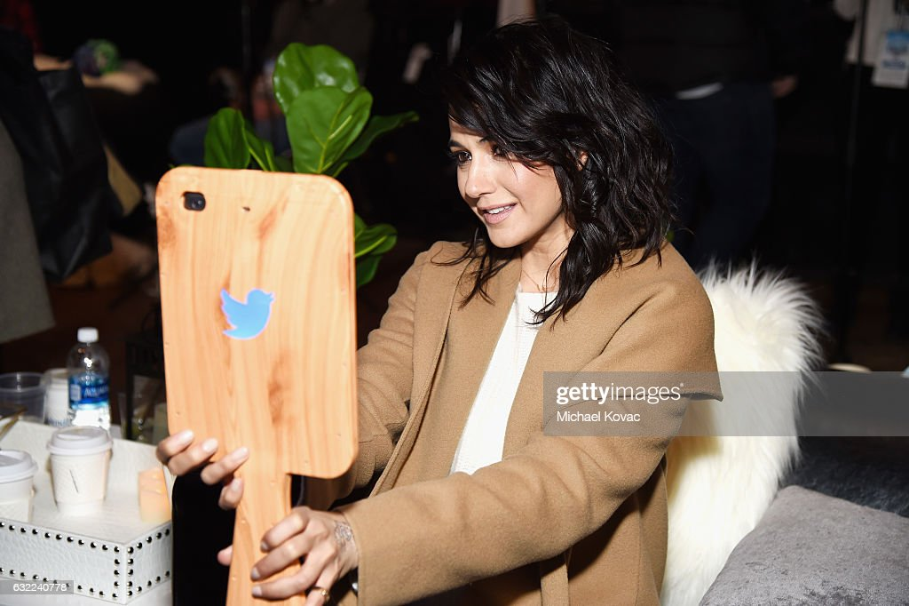 Actress Emmanuelle Chriqui attends Park City Live Presents The Hub Featuring The Marie Claire Studio and the 4K ULTRA HD Showcase Brought to You by the Consumer Technology Association on January 20, 2017 in Park City, Utah.
