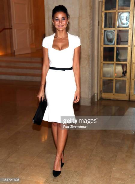 Actress Emmanuelle Chriqui attends the 2013 Skin Cancer Foundation gala at The Plaza Hotel on October 15 2013 in New York City