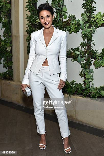 Actress Emmanuelle Chriqui attends the 22nd Annual ELLE Women in Hollywood Awards presented by Calvin Klein Collection L'Oréal Paris and David Yurman...