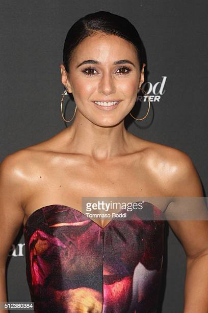 Actress Emmanuelle Chriqui attends the 3rd Annual 'An Evening With Canada's Stars' held at the Four Seasons Hotel Los Angeles at Beverly Hills on...