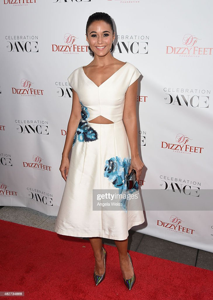 Actress Emmanuelle Chriqui attends the 5th Annual Celebration of Dance Gala presented By The Dizzy Feet Foundation at Club Nokia on August 1, 2015 in Los Angeles, California.