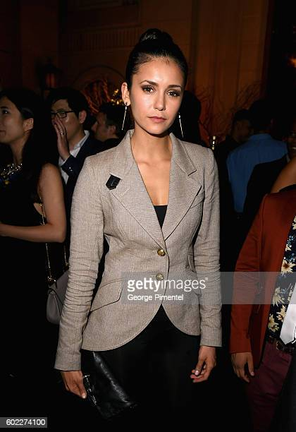 Actress Emmanuelle Chriqui attends the Hollywood Foreign Press Association and InStyle's annual celebration of the Toronto International Film...