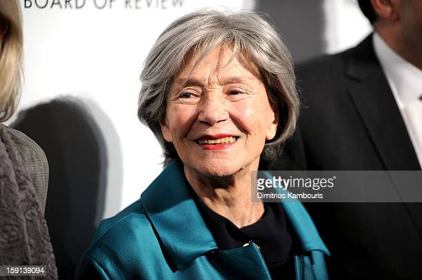 Actress Emmanuelle Riva attends the 2013 National Board Of Review Awards Gala at Cipriani 42nd Street on January 8 2013 in New York City