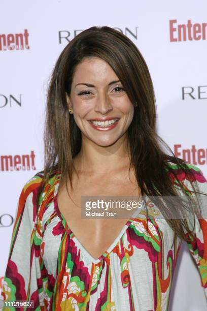 Actress Emmanuelle Vaugier arrives at the Entertainment Weekly's 5th Annual PreEmmy Party at Opera and Crimson on September 15 2007 in Hollywood...