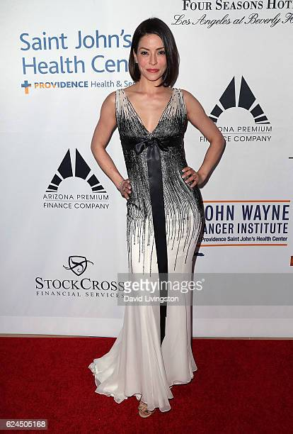 Actress Emmanuelle Vaugier attends the Talk of the Town Gala 2016 at The Beverly Hilton Hotel on November 19 2016 in Beverly Hills California
