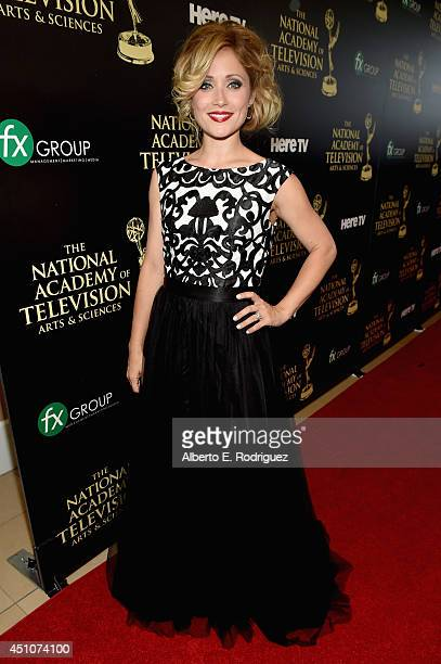 Actress Emme Marcy Rylan attends The 41st Annual Daytime Emmy Awards at The Beverly Hilton Hotel on June 22 2014 in Beverly Hills California