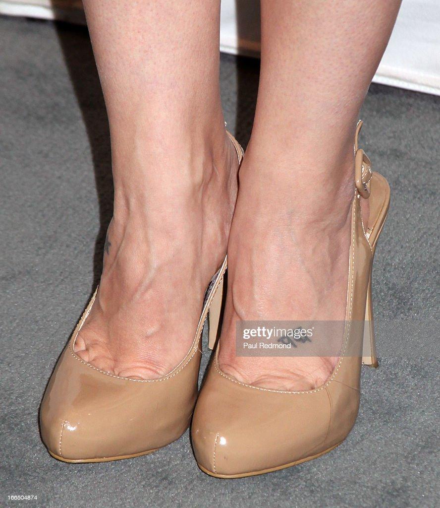 Actress Emme Rylan arrives at The Paley Center For Media Presents 'General Hospital: Celebrating 50 Years And Looking Forward' at The Paley Center for Media on April 12, 2013 in Beverly Hills, California.