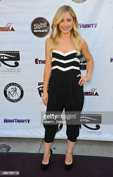 Actress Emme Rylan arrives for the Etheria Film Night 2015 held at American Cinematheque's Egyptian Theatre on June 13 2015 in Hollywood California