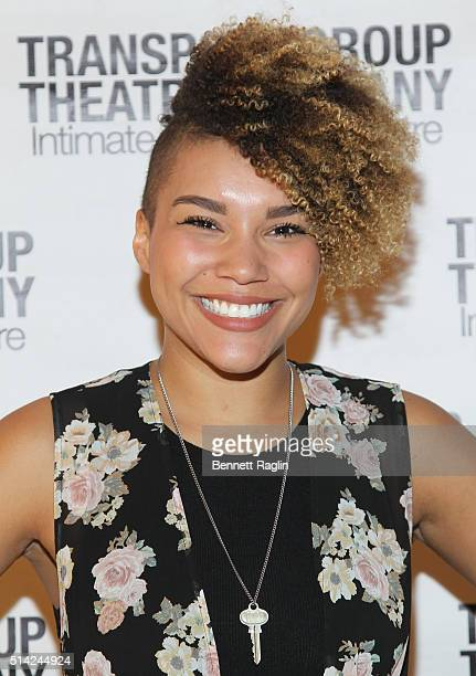 Actress Emmy RaverLampman attends the 2016 Gimme A Break Fundraising Gala at TheTimesCenter on March 7 2016 in New York City
