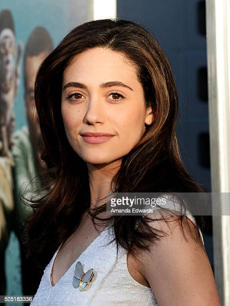 Actress Emmy Rossum arrives at the premiere of Warner Bros' Keanu at the ArcLight Cinemas Cinerama Dome on April 27 2016 in Hollywood California