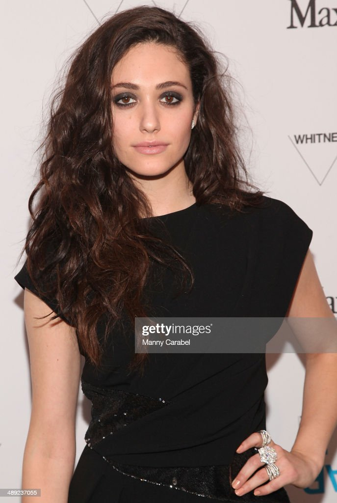 Actress Emmy Rossum attends the 2014 Whitney Art Party at Highline Stages on May 8, 2014 in New York City.