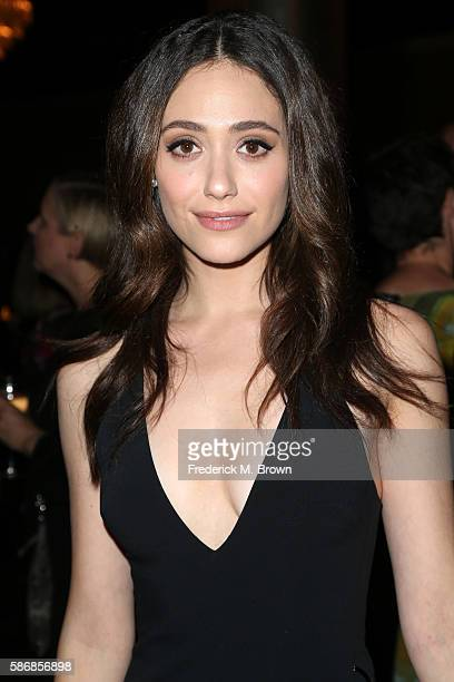 Actress Emmy Rossum attends the 32nd annual Television Critics Association Awards during the 2016 Television Critics Association Summer Tour at The...