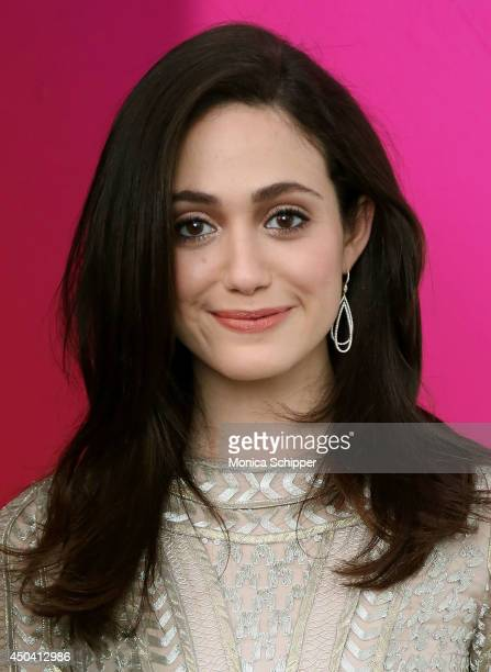 Actress Emmy Rossum attends the American Express And Uber Mobile Loyalty Program launch at Hudson Mercantile on June 10 2014 in New York City