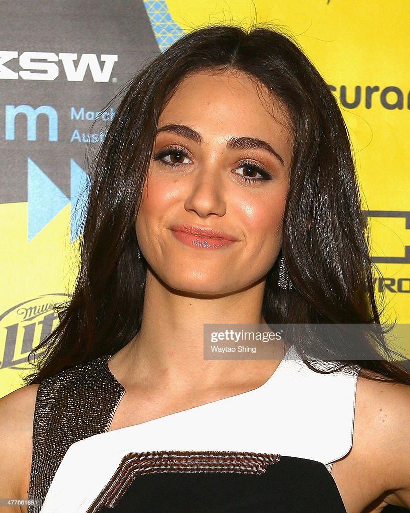 Actress Emmy Rossum attends the 'Before I Disappear' Photo Op and Q&A during the 2014 SXSW Music, Film + Interactive Festival at Alamo Ritz on March 10, 2014 in Austin, Texas.