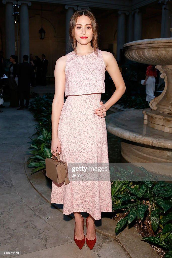 Carolina Herrera - Front Row - Fall 2016 New York Fashion Week : News Photo