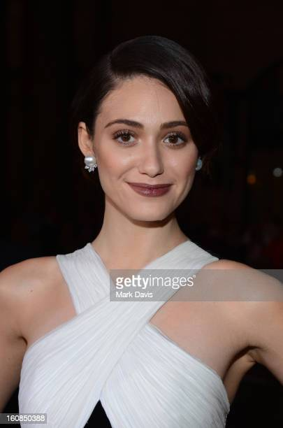 """Actress Emmy Rossum attends the Los Angeles premiere of Warner Bros. Pictures' """"Beautiful Creatures"""" at TCL Chinese Theatre on February 6, 2013 in..."""