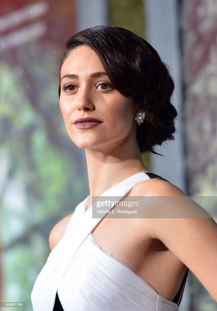 Actress Emmy Rossum attends the Los Angeles premiere of Warner Bros. Pictures' 'Beautiful Creatures' at TCL Chinese Theatre on February 6, 2013 in Hollywood, California.