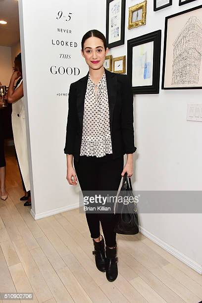 Actress Emmy Rossum attends the Of Mercer Women Of Substance Underground Supper Club on February 17 2016 in New York City