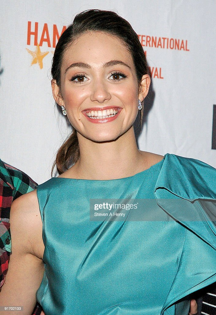 Actress Emmy Rossum attends the premiere of 'Dare' during 17th Annual Hamptons International Film Festival at United Artists Regal Cinema on October 9, 2009 in East Hampton, New York.