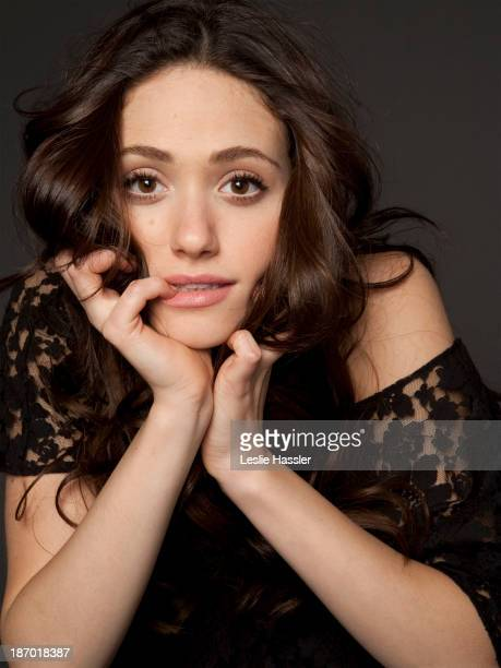 Actress Emmy Rossum is photographed for Self Assignment on January 5 2011 in New York City