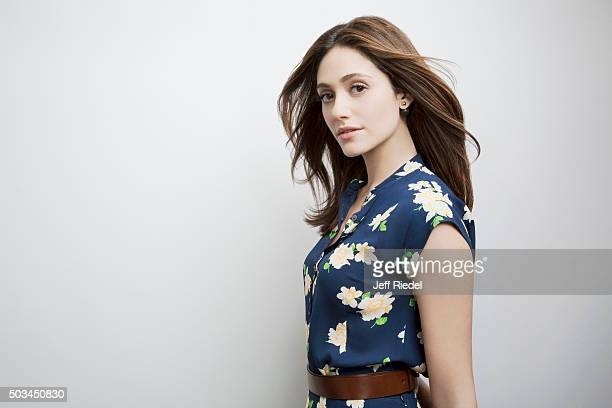 Actress Emmy Rossum is photographed for TV Guide Magazine on January 12 2015 in Pasadena California