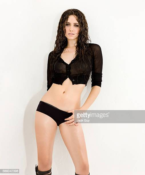 Actress Emmy Rossum is photographed for Vega Magazine on October 2 2008 in Los Angeles California