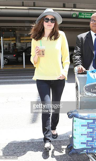 Actress Emmy Rossum is seen on June 18 2015 in Los Angeles California