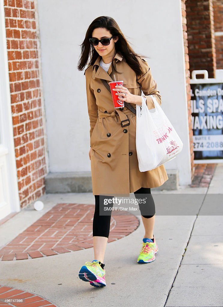 Celebrity Sightings In Los Angeles - November 11, 2015 : News Photo