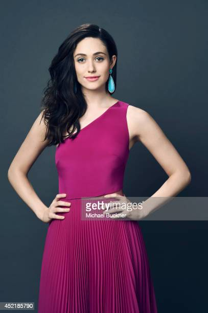 Actress Emmy Rossum poses for a portrait at the Critics' Choice Awards 2014 on June 19 2014 in Beverly Hills California