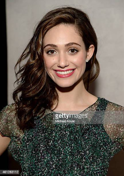 Actress Emmy Rossum wearing Piaget attends the 2015 Film Independent Filmmaker Grant and Spirit Awards nominee brunch with Piaget at BOA Steakhouse...