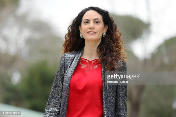 Actress Enrica Guidi attends the photocall for L'Eroe at Casa del Cinema on March 05 2019 in Rome Italy
