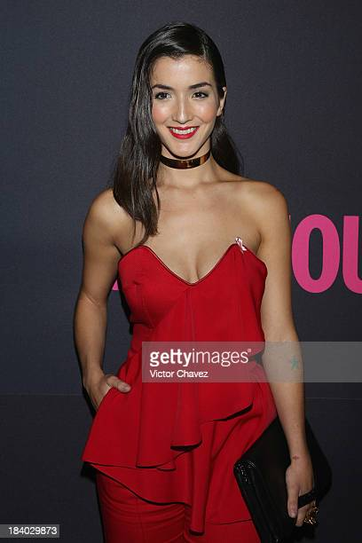 Actress Erendira Ibarra attends the Glamour Magazine 15th Anniversary at Casino Del Bosque on October 10 2013 in Mexico City Mexico