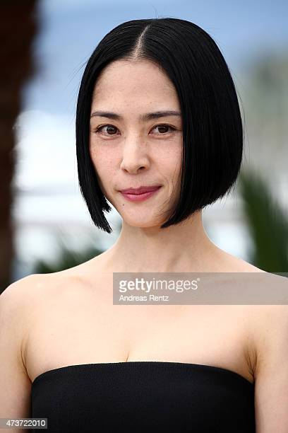 Actress Eri Fukatsu attends a photocall for Kishibe No Tabi during the 68th annual Cannes Film Festival on May 17 2015 in Cannes France