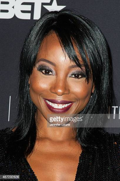 """Actress Erica Ash arrives at An Evening With """"Real Husbands of Hollywood"""" presented by The Paley Center for Media on October 14, 2014 in Beverly..."""