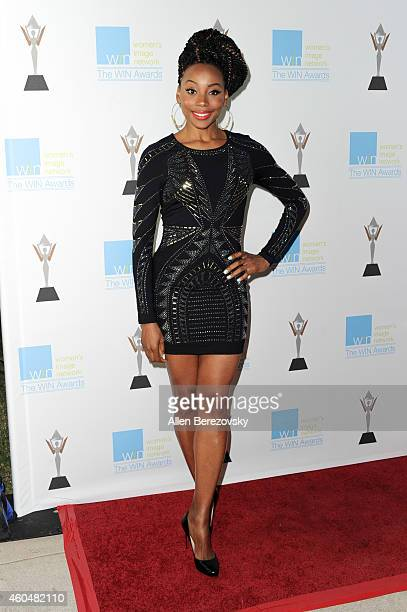 Actress Erica Ash arrives at Women's Image Network's 16th annual Women's Image Awards at Beverly Hills Women's Club on December 14 2014 in Beverly...