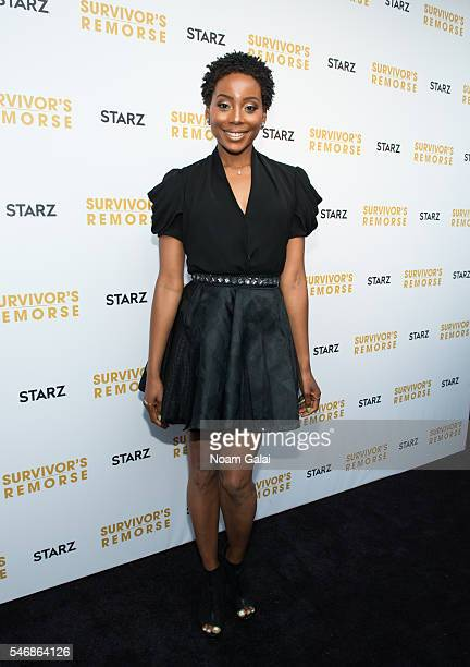 Actress Erica Ash attends 'Survivor's Remorse' New York screening at Roxy Hotel on July 12 2016 in New York City