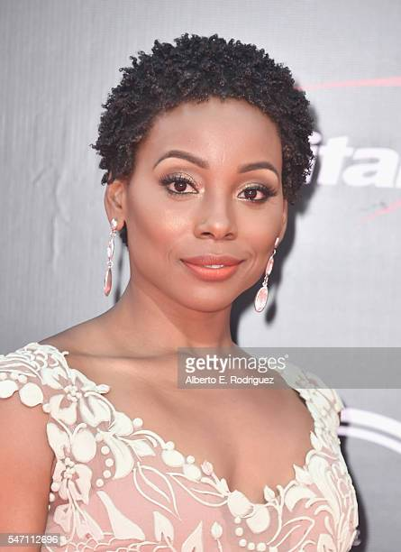 Actress Erica Ash attends the 2016 ESPYS at Microsoft Theater on July 13 2016 in Los Angeles California