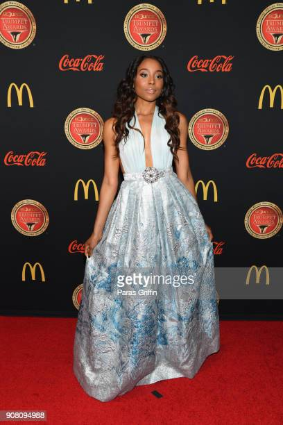 Actress Erica Ash attends the 26th Annual Trumpet Awards at Cobb Energy Performing Arts Center on January 20 2018 in Atlanta Georgia