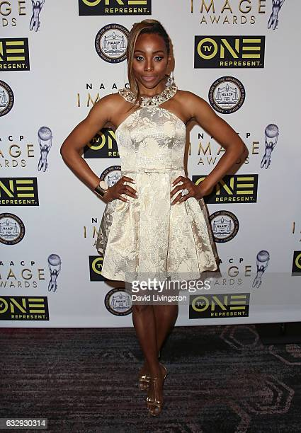 Actress Erica Ash attends the 48th NAACP Image Awards Nominees' Luncheon at Loews Hollywood Hotel on January 28 2017 in Hollywood California