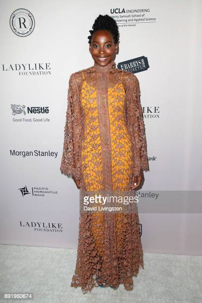 Actress Erica Ash attends the Ladylike Foundation's 9th Annual Women of Excellence Awards gala at The Beverly Hilton Hotel on June 3 2017 in Beverly...