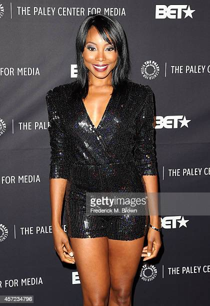 """Actress Erica Ash attends The Paley Center for Media Presents """"An Evening with Real Husbands of Hollywood"""" at The Paley Center for Media on October..."""
