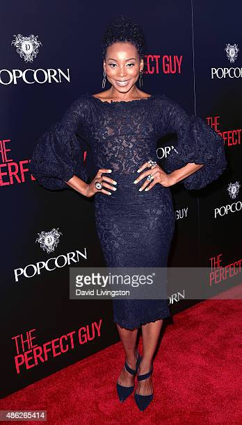 Actress Erica Ash attends the premiere of Screen Gems' 'The Perfect Guy' at the WGA Theater on September 2 2015 in Beverly Hills California