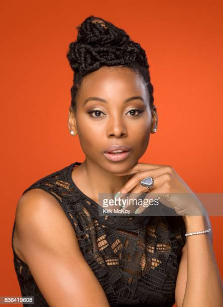 Actress Erica Ash is photographed for Los Angeles Times on June 19 2017 in Los Angeles California PUBLISHED IMAGE CREDIT MUST READ Kirk McKoy/Los...