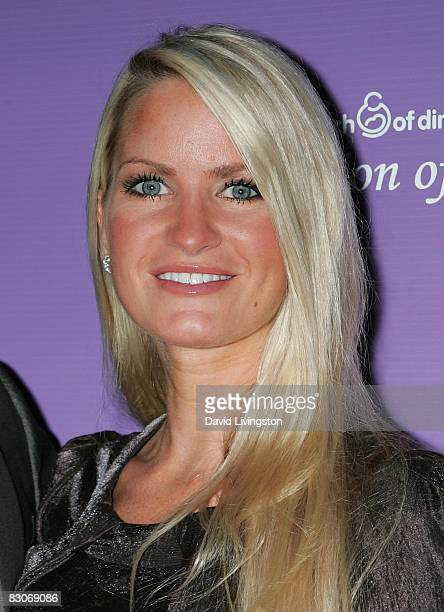 Actress Erica Dahm attends the March of Dimes' Celebration of Babies at The Beverly Hilton Hotel on September 27 2008 in Beverly Hills California