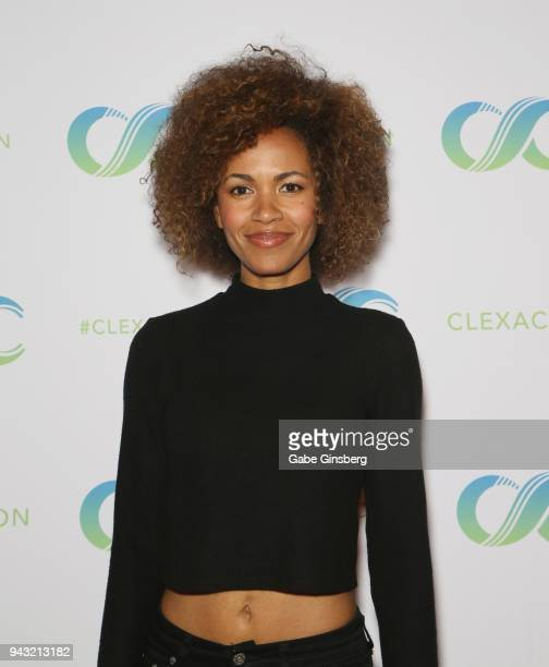 Actress Erica Luttrell attends the Cocktails for Change fundraiser hosted by ClexaCon to benefit Cyndi Lauper's True Colors Fund at the Tropicana Las...