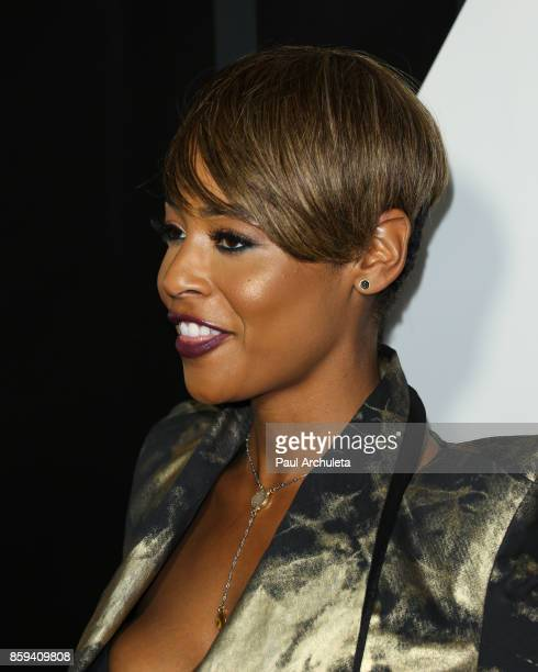 Actress Erica Peeples attends the 4th Annual CineFashion Film Awards at The El Capitan Theatre on October 8 2017 in Los Angeles California