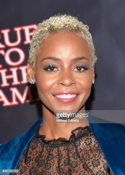 Actress Erica Peeples attends the premiere of Imani Motion Pictures' True To The Game at Directors Guild Of America on September 5 2017 in Los...